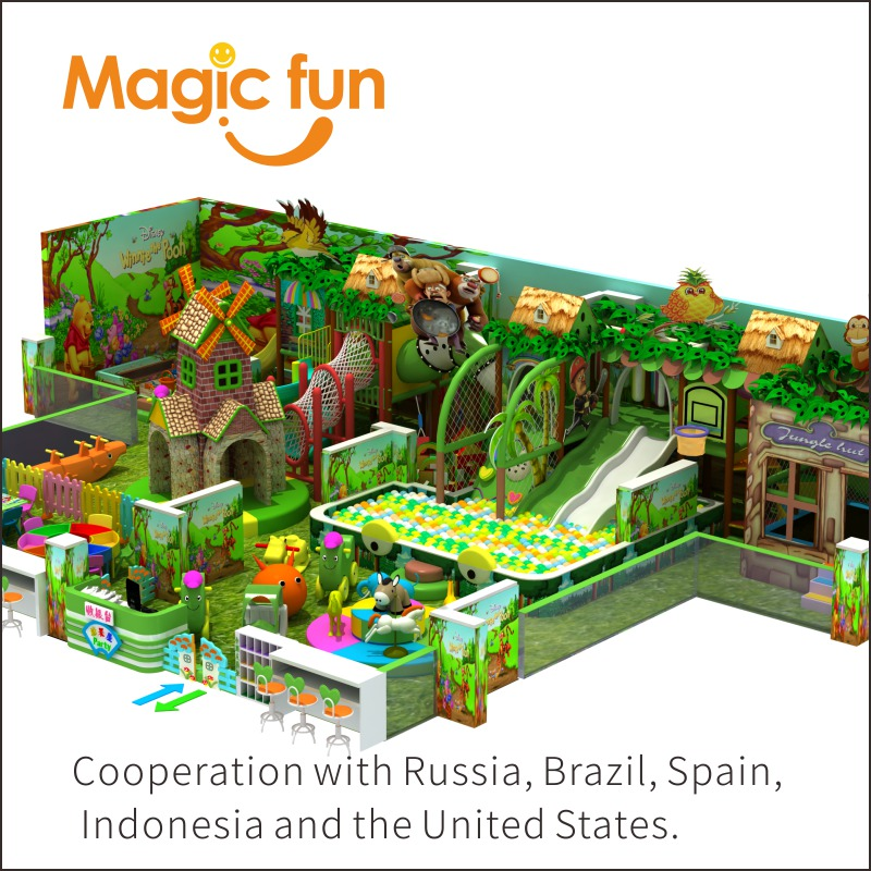 MAGIC FUN Commercial inflatable Outdoor playground Amusement park equipment Fitness kids equipment Indoor playground children