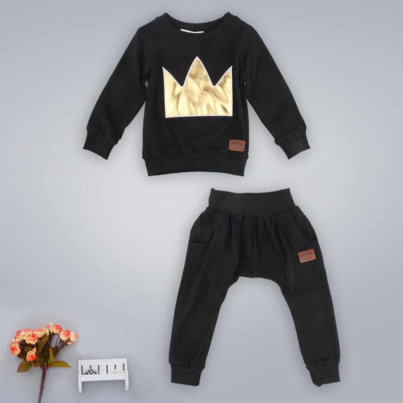 New-2-Pcs-Newborn-Toddler-Infant-Baby-Boys-Girls-Clothes-Set-T-shirt-TopsPants-Outfits-S01-3