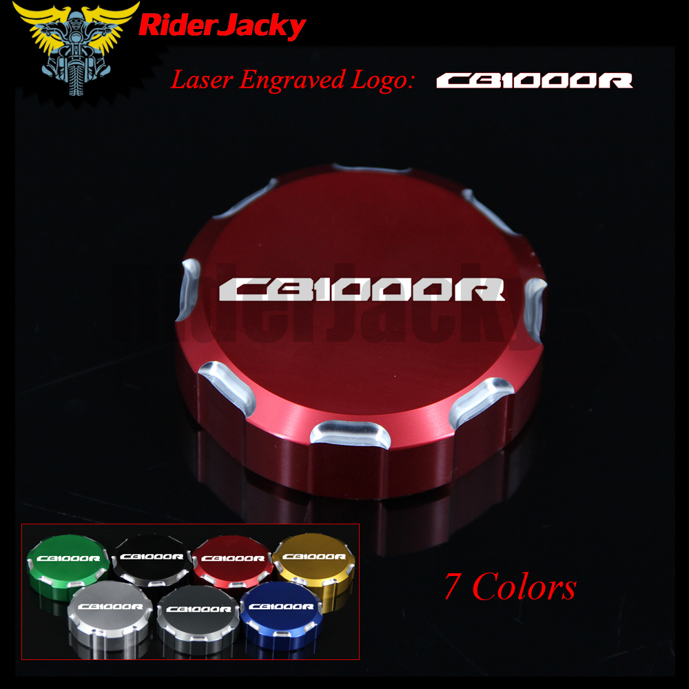 8 Colors With Logo CNC Motorcycle Front Brake Master Cylinder Reservoir Cover Cap For Honda CB 1000R CB1000R 2011-2014 2012 2013