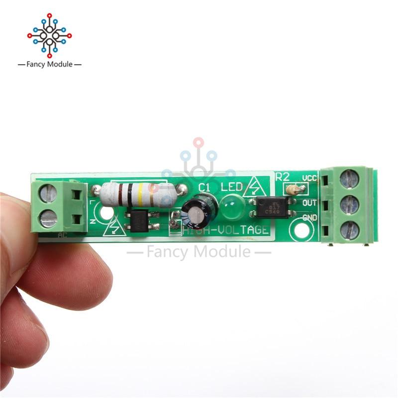 5Pcs 1-Bit Ac 220V Optocoupler Isolation Module Testing Board Adaptive For Pl ii