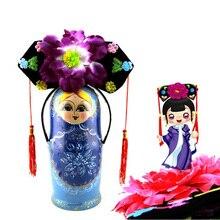 10 шт./партия китайская старинная шапка принцессы Qing, шоу, вечерние шапка для косплея, игрушки