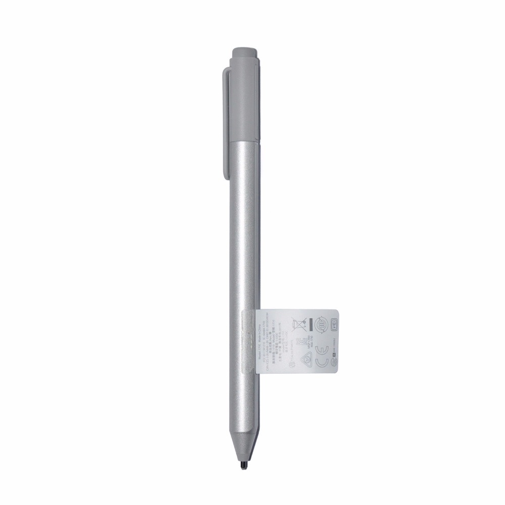 Replacement Stylus Pen for Microsoft Surface Pro 4 & Surface Book-Wireless Bluetooth Capacitive Ballpoint Silver new stylus pen refill for surface pro 4 silver touch refill capacitive ballpoint