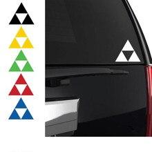 Vinyl Decal Art-Stickers Laptop Zelda Triforce Custom Wall T180750 Automobile