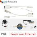 Пассивный POE комплект проводов адаптер пассивный poe сплитер и поддержка инжектор питания для всех камер IP GANVIS GV-PoE-S1
