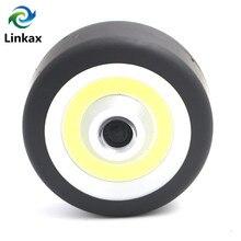 Mini COB LED Flashlight Round Pocket LED Flash Light Lamp Ca
