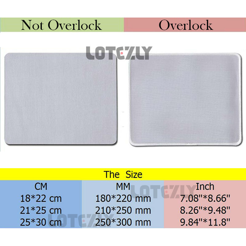 New Brand World of Tanks Lotezly Stitched Edge Mousepad Laptop Computer Desktop Gaming Rubber Mats Gamer Play Mice Pads