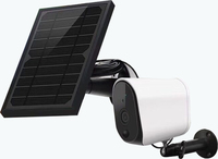 CTVISON Solar powered wireless ip security camera Outdoor 2Way Audio Wifi Solar Panel Battery Power CCTV Camera
