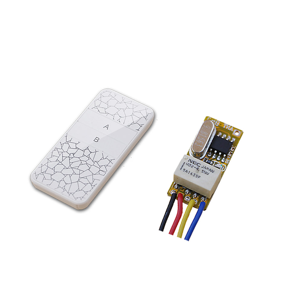 DC 3.5V 3.7V 5V 6V 7.4V 9V 12V Mini Relay Wireless Switch Remote Control Power LED Lamp Controller Micro Receiver & Transmitter dc3v 3 7v 5v 6v 7v 9v 12v mini relay wireless switch remote control power led lamp controller micro receiver transmitter system