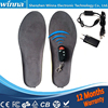 Wireless Heating Insoles MEN INSOLES Winter Warm Insoles Keep Your Feet Warm Large Gray Size EUR