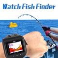 Wireless Wrist Watch Waterproof fish Watch Fish Finder 60m Echo Depth Fishing Sonar Sensor Fishfinder Alarm Transducer Sounder