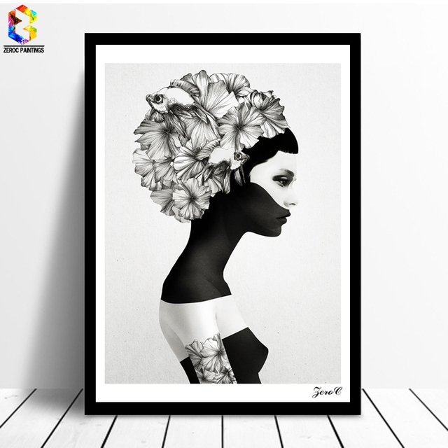 Nordic Cuadros Posters Prints Black White Wall Art Canvas Painting Picture Living Room Scandinavian Home