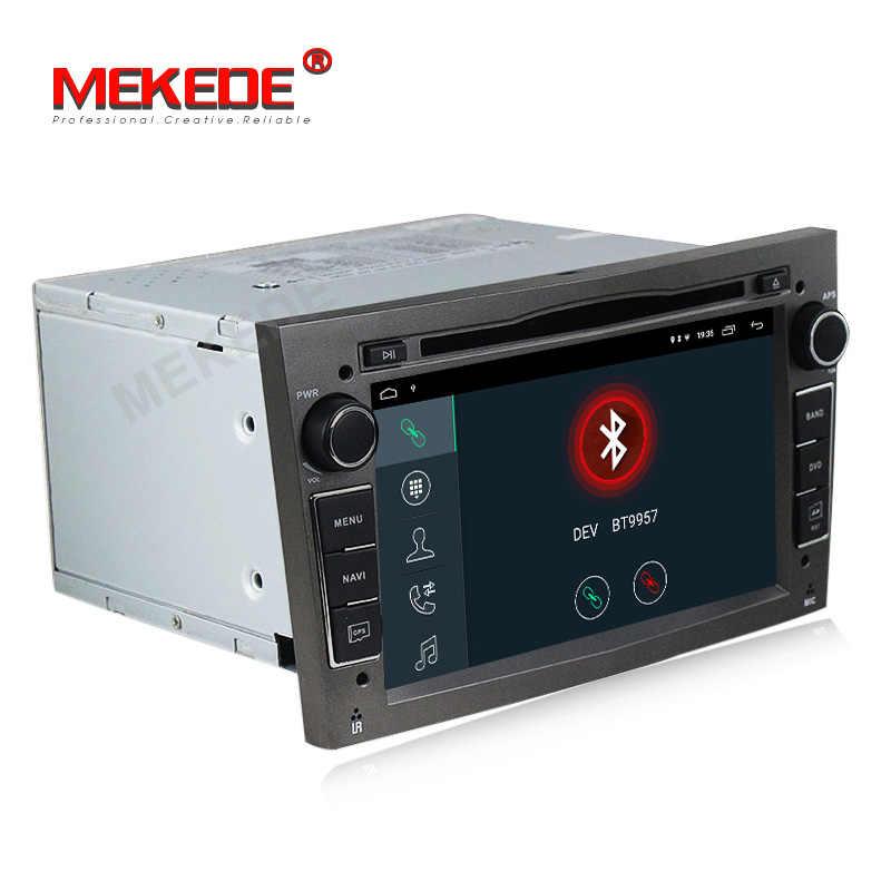 """MEKEDE 7 """"2Din Android 9,1 Автомобильный мультимедийный плеер для Opel Astra Vectra Antara Zafira Corsa автомобильный dvd-радио GPS навигация + 16G карта"""