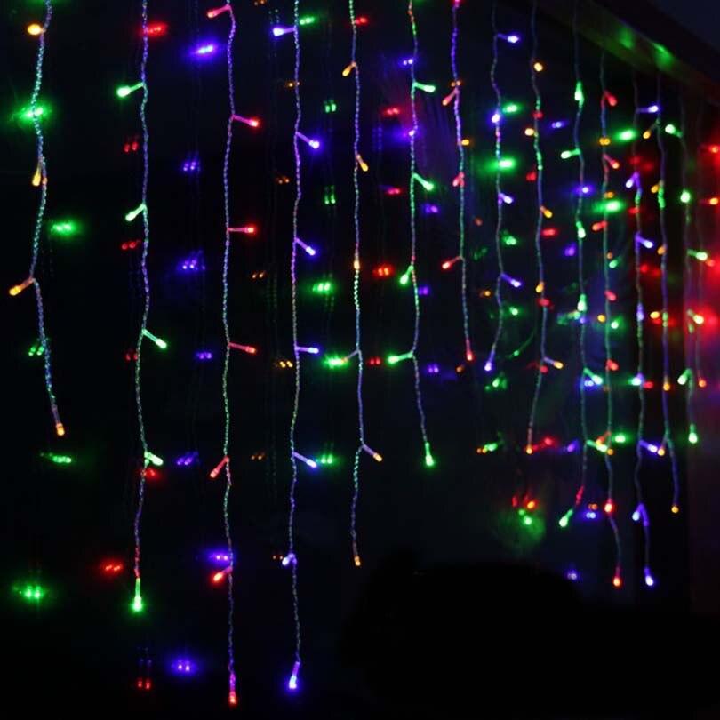Christmas Lights On Cleveland Public Square: 2m X1m LED Christmas Curtain Light 104 LED Fairy String