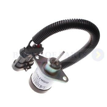 Stop Solenoid 7000769 1J710-60011 1J71060011 for Bobcat Skid Steer Loader 5600 5610 S160 S185 T190 T550