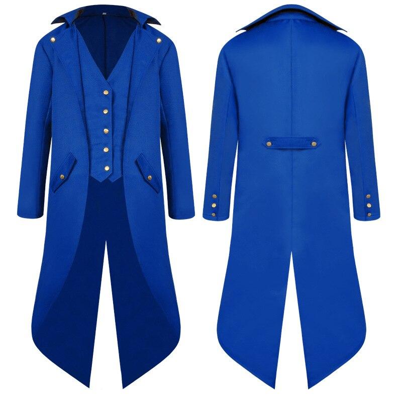 Begeistert Xxxxadult Männer Viktorianischen Kostüm Schwarz Smoking Mode Frack Gothic Steampunk Graben Mantel Kleid Outfit Mantel Uniform Für Männer