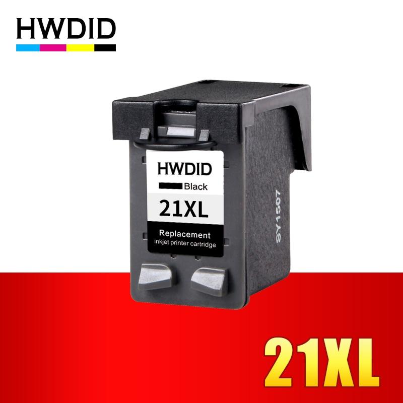 HWDID 21XL 22XL Cartuccia Ricaricata di Ricambio per hp 21 22 XL per Deskjet 3915 3920 D1320 D1455 F2100 F2280 F4100 F4180