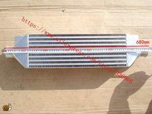 Intercooler tamaño del núcleo 460*160*90mm In/outlet2.5inch Barra de montaje frontal y placa HOND * CIVI * FMIC intercooler AAA piezas del turbocompresor