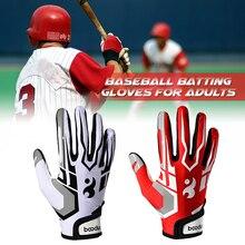 Ватин перчатки унисекс Бейсбол Софтбол ватин перчатки анти-скольжения ватин перчатки для взрослых
