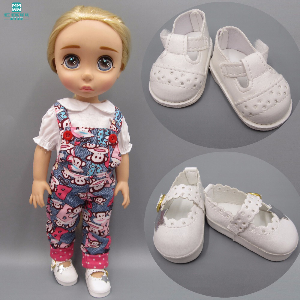2018 NEW 6.5cm mini White casual <font><b>shoes</b></font> fits <font><b>dolls</b></font> fits <font><b>1/4</b></font> <font><b>BJD</b></font> <font><b>dolls</b></font> and 40cm salon <font><b>dolls</b></font> Accessories image