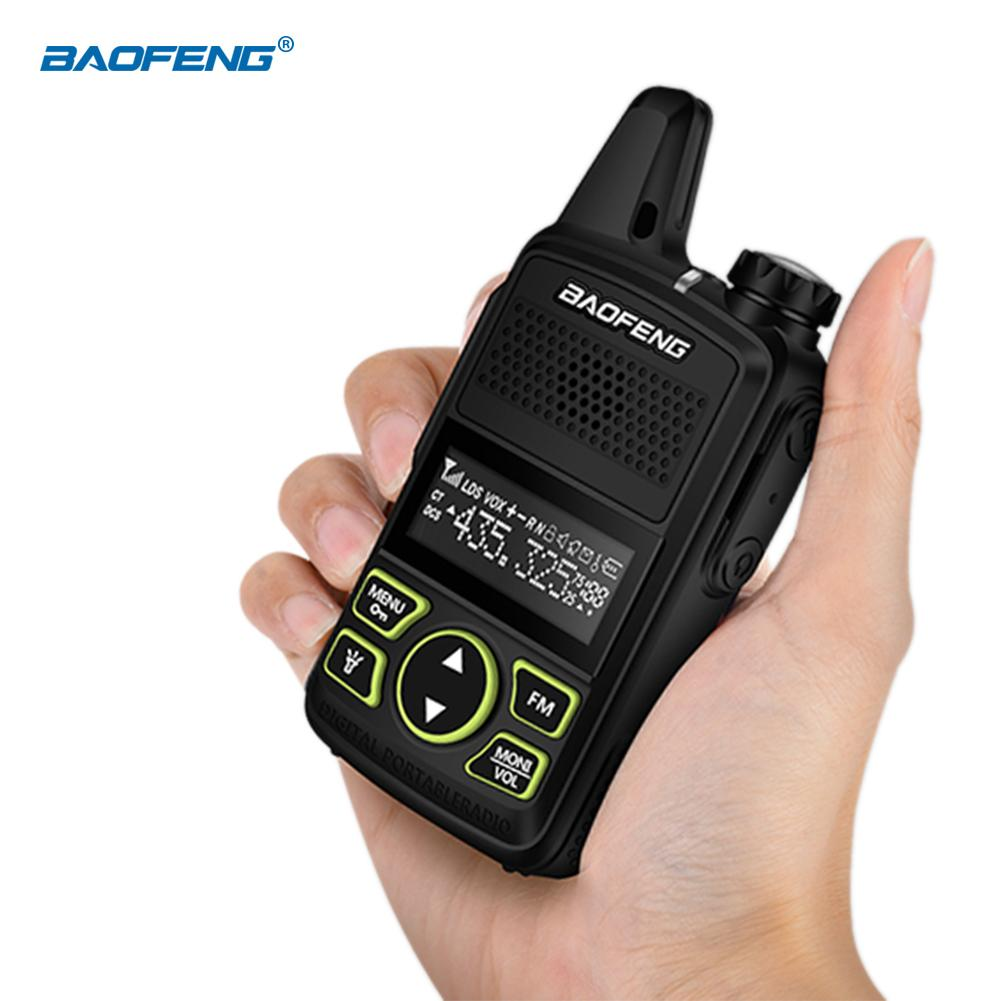 1PCS Hight Quality For Baofeng BF-T1 New MINI Ultra-thin Walkie Talkie