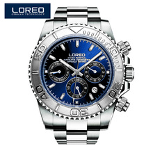LOREO Germany watches font b men b font automatic self wind diver 200M oyster perpetual cosmograph