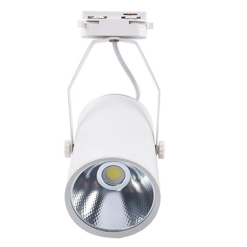 wall track lighting. cob 20w led track light ac110 240v lighting retail spot wall lamp rail spotlights replace halogen lamps whiteblackin from lights