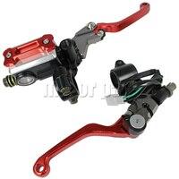 22mm Handlebars Motorbike Brake Master Cylinder Fluid Reservoir Clutch Leve For Honda XR 250 230 400