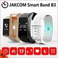 Jakcom b3 banda inteligente nuevo producto de pulseras como la frecuencia cardiaca y la presión arterial reloj pulsómetro dfit