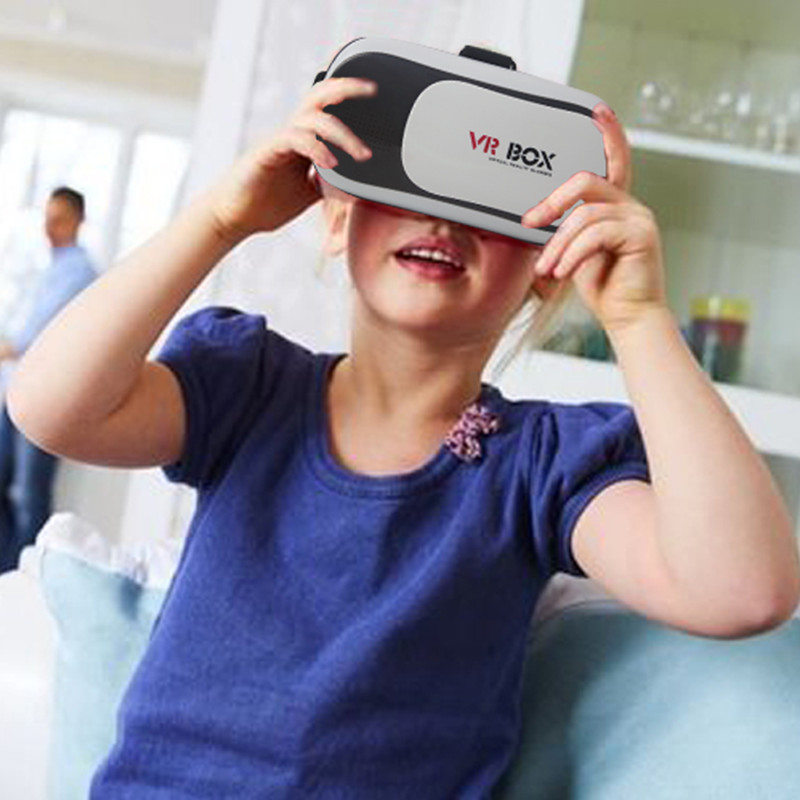 VR BOX 2.0 II Google 3D Glass Glasses VR Glasses Virtual Reality Case Cardboard Headset Helmet For Mobile Phone iPhone 7 6 6s 5 8