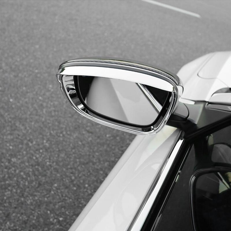 Для Honda Accord 10th 2018 2019 ABS хромированный автомобильный зеркальный блок заднего вида для дождя аксессуары для бровей автомобильный Стайлинг нак