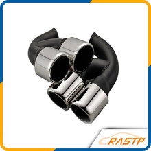 RASTP – Original Stainless Steel Exhaust Pipe Mufflers For Porsche Cayenne  LS-CR8062
