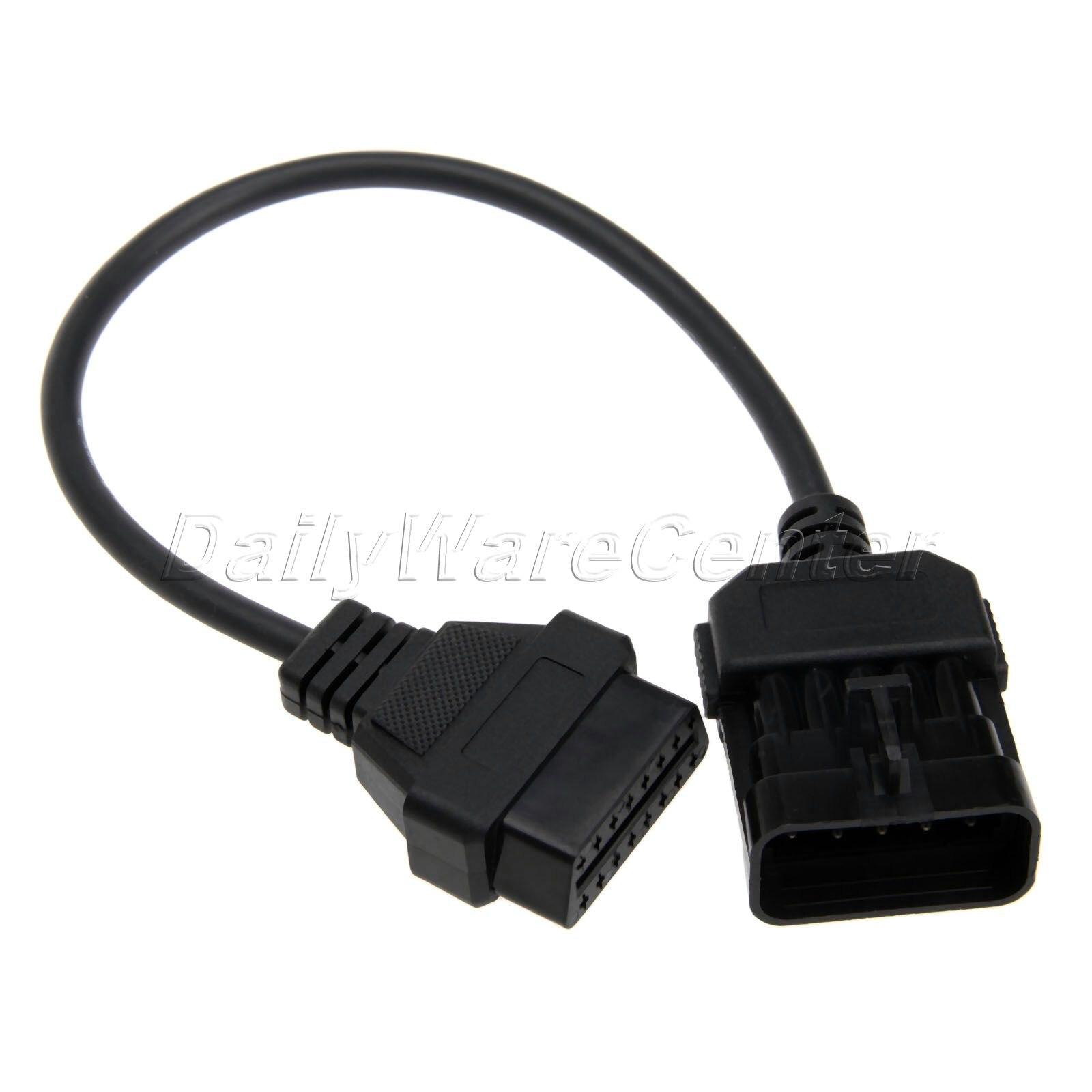 16 Pin Obd Ii Obd 2 Diagnostic Male Terminal Connector Plug Diy Shell Adapter Consumers First Car Repair Tools