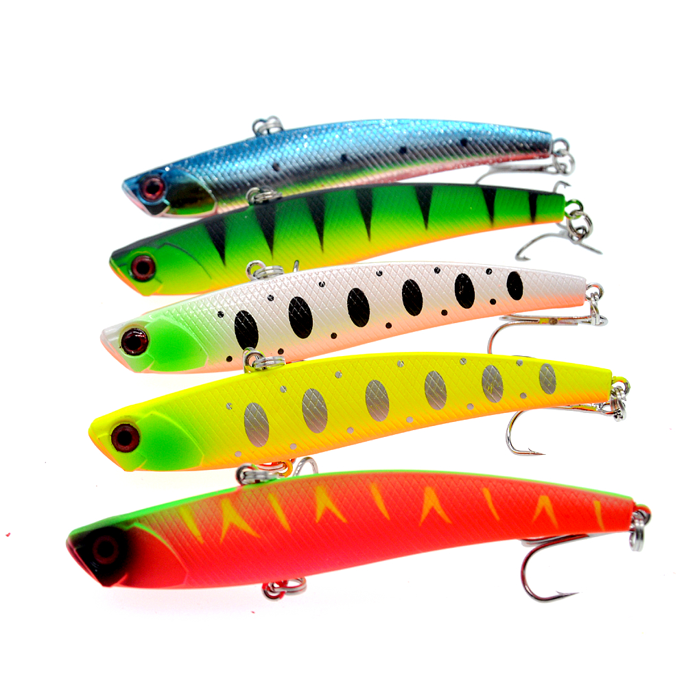 Image 3 - Sinking Vibration Fishing Lure 26g 95mm Hard Plastic Artificial VIB Winter Ice Fishing Pike Bait Tackle Isca Peche-in Fishing Lures from Sports & Entertainment