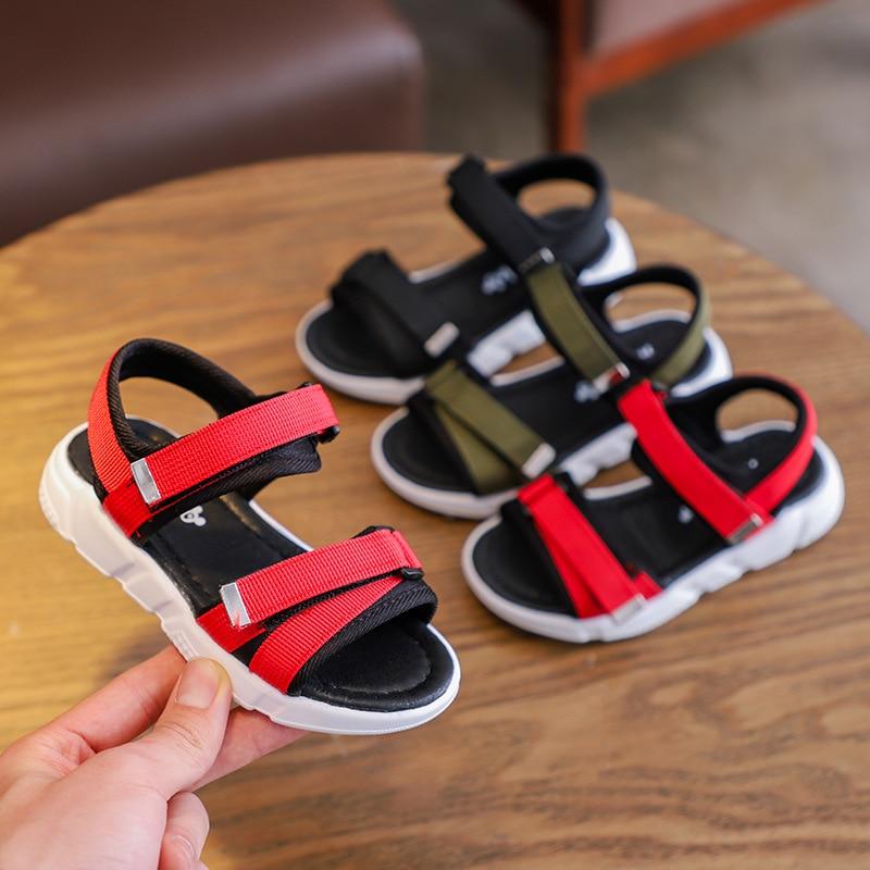 AFDSWG boys shoes summer black beach
