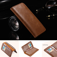 Top Quality Genuine Leather Case For HTC One M7 Mobile Phone Bag Wallet For All Phone
