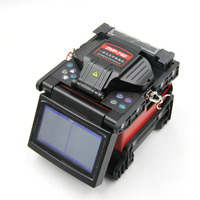 DVP 740 Multi Language Fiber Optic Fusion Splicer Fusion Machine Cleaver FTTH Tool Kit