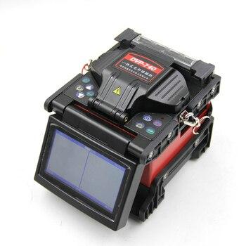 DVP-740 Multi lenguaje fibra óptica empalme fusión máquina de fusión cuchilla FTTH Kit de herramientas