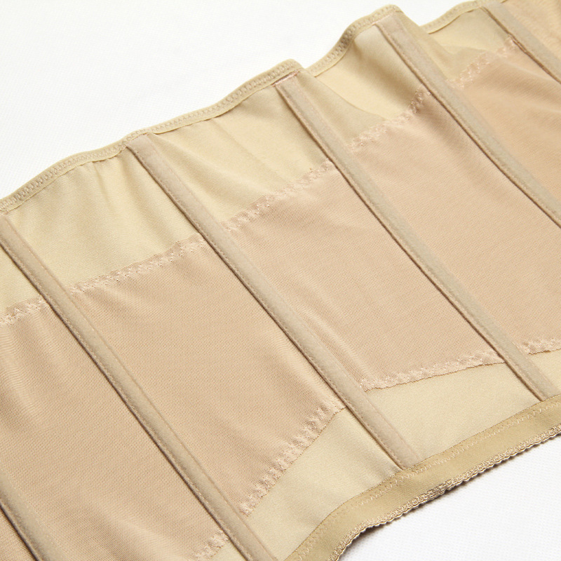 Breathable Abdominal Women Corset Body Shaper Postpartum Waist Belt Trimmer Slimming Girdle Trainer Underbust Vest (9)