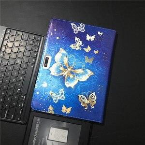 Image 3 - HISTERS PU cuir couverture pour Digma CITI 1593 1590 1578 1577 1576 1508 3G 4G 10.1 pouces tablette Folio Stand Case 3 cadeaux gratuits