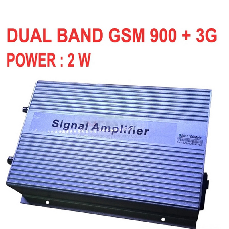 High Gain 3000sq Meters 2W GSM 900 3G 2100MHZ DUAL BANDS BOOSTER GSM+3G Repeater,3G Booster,WCDMA Repeater 3G SIGNAL Booster