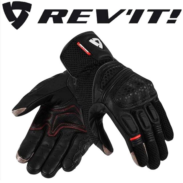 Holland REVIT Dirt 2 motorcycle touch screen gloves Mobile phone 2018 New drop resistance summer style Hard shell protection