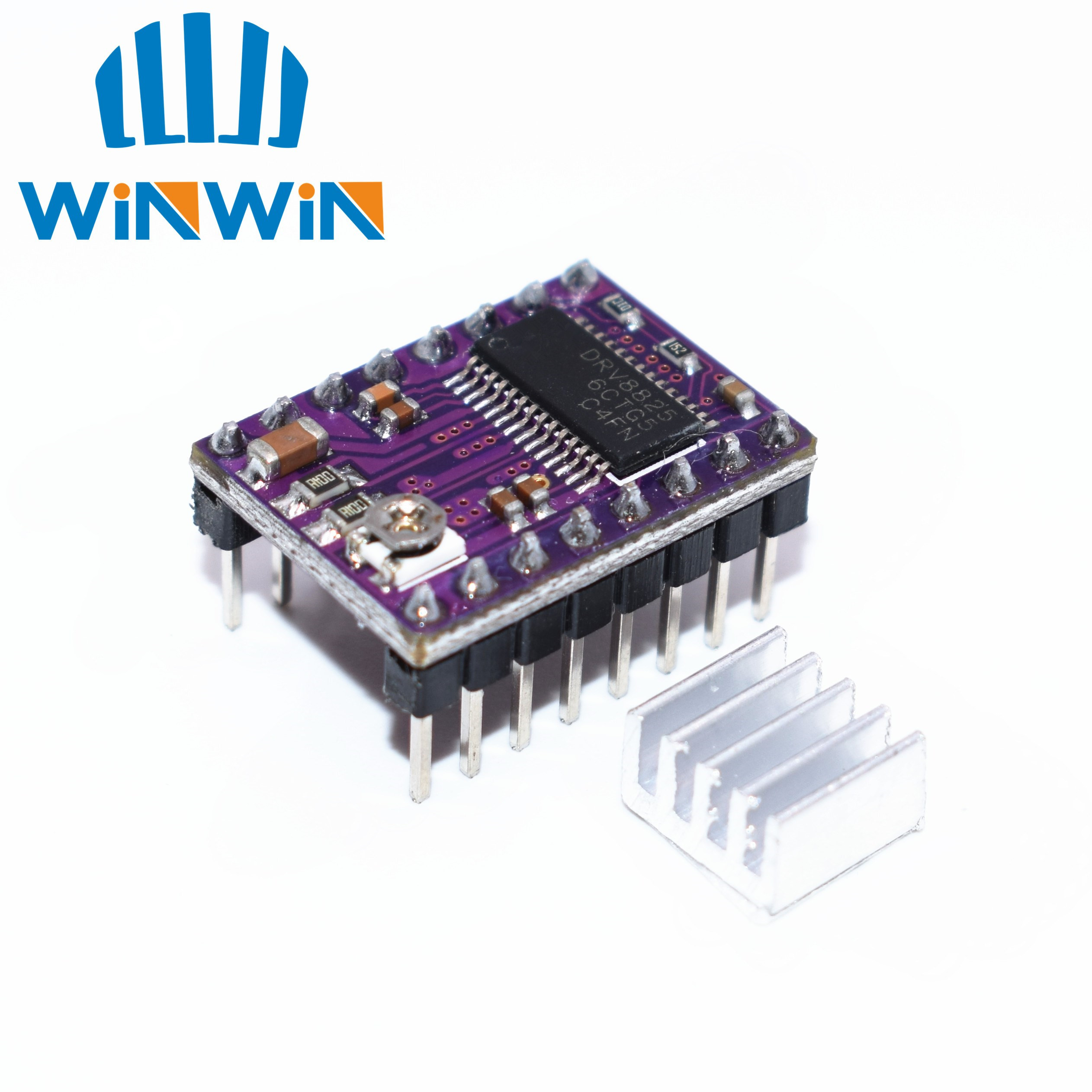 A01 100pcs lot 3D Printer Stepstick Drv8825 Stepper Motor Driver Reprap 4 PCB Board