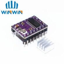 A01 100 unids/lote 3D impresora Stepstick Drv8825 controlador de Motor paso a paso Reprap 4 placa PCB