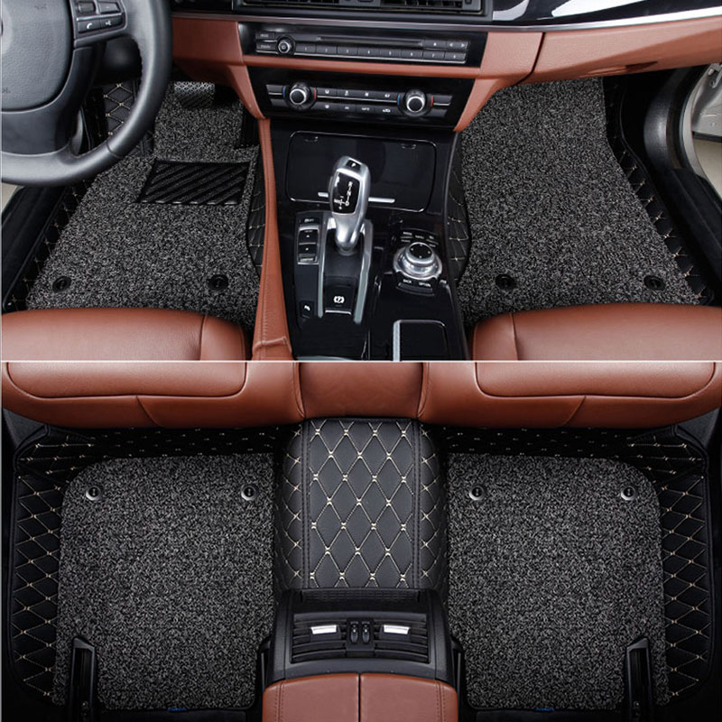 Car-Floor-Mats Weather-Protection Caliber Dodge Journey Carpet Custom for JCUV 3dcar-Styling