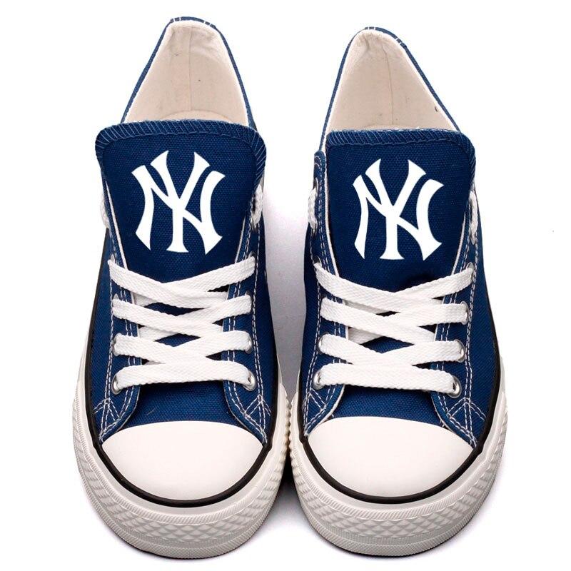 4189f9860c djw25l T Diseñador Impreso York Alpargatas 0000 Al Libre Nueva Zapatos Lona  Personalizado Aire Para Popular Caminar Fans Hombres Adultos aqgwafTrxW