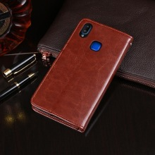 For Vivo Y91 Y95 Case Business Flip Wallet Leather Capa Case for Vivo Y91 Y95 Cover Phone Bags Accessories vivo y91 case cover for vivo y91 magnetic finger ring phone case shell bumper protective hard pc armor case for vivo y91 y95