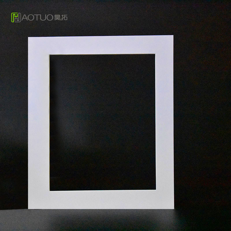 Photo Frame White Acid Free Cardboard Easel Mats 8x10 Inch Pictures ...