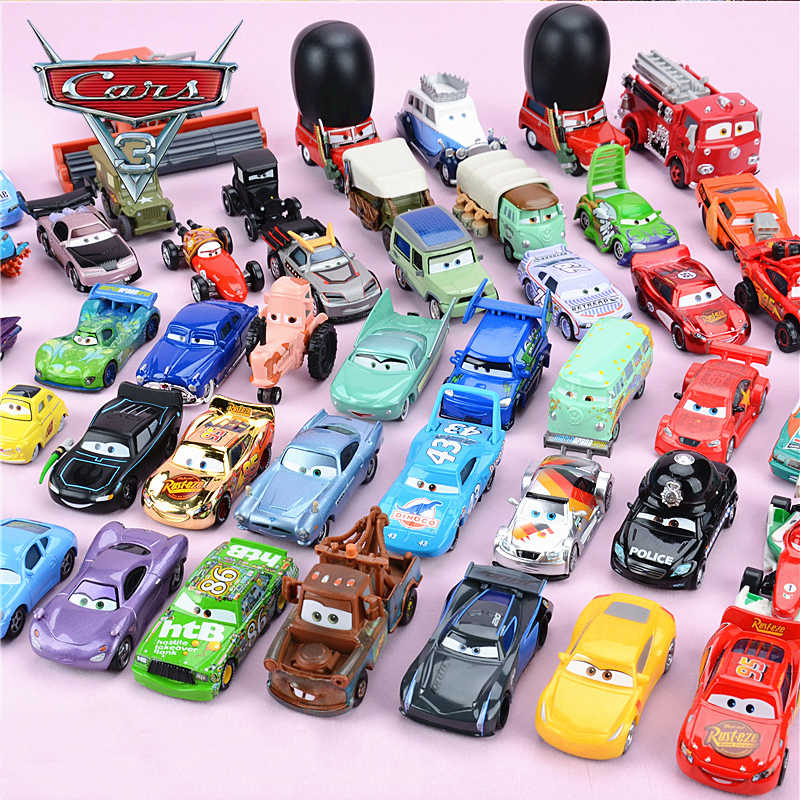 29 Style Disney Pixar Cars 3 Lightning McQueen Jackson Storm Ramirez DocHudson Diecast Metal Car Model Children Educational Toys