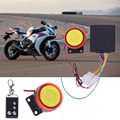 Professional Motorcycle Security Remote Start Driving Vibration Alarm System Waterproof Anti-theft  with 3V CR2032 Battery