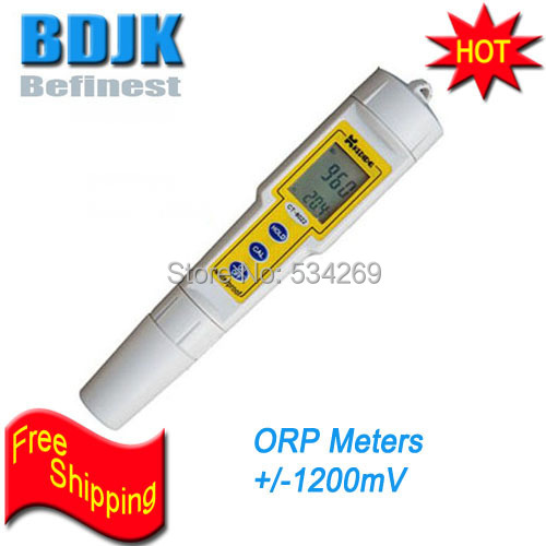 +/-1200MV Waterproof Digital ORP Meters with Temperature Display Free Shipping+/-1200MV Waterproof Digital ORP Meters with Temperature Display Free Shipping